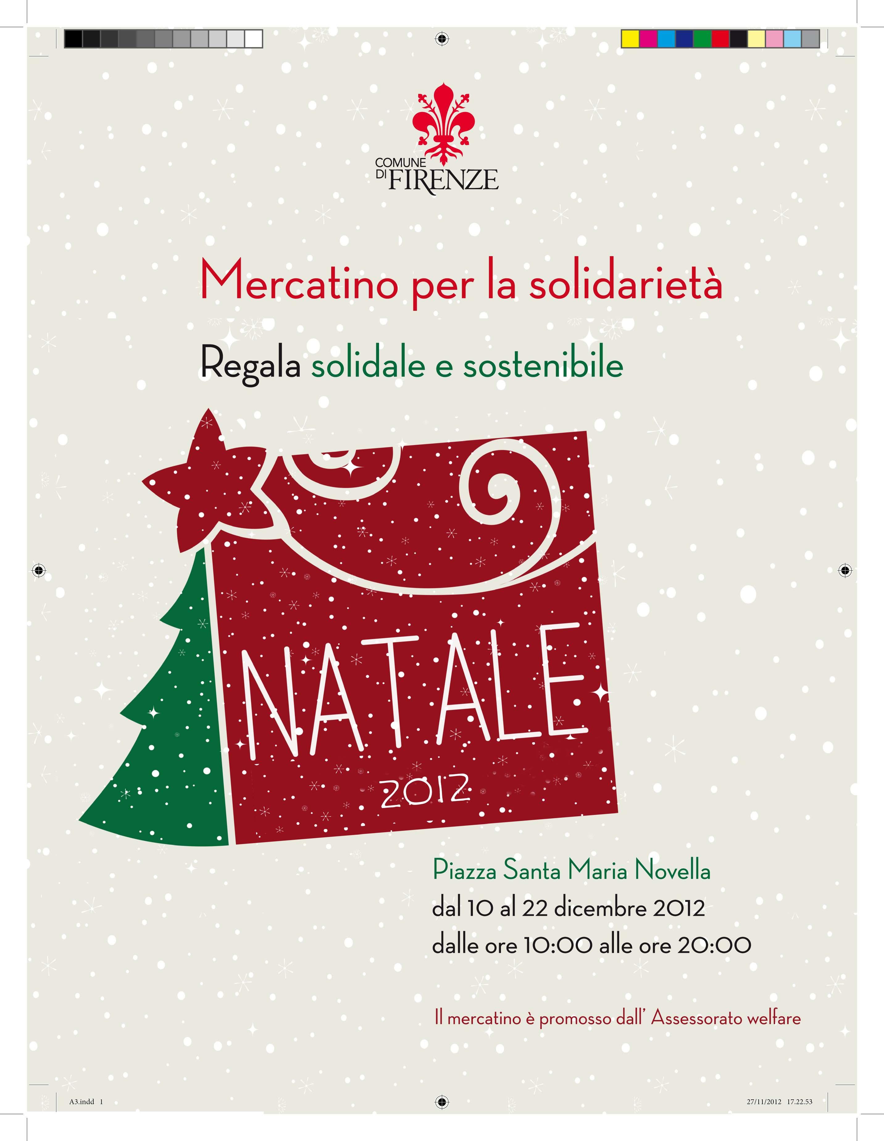 Firenze: la sezione di Shalom al mercatino  per la solidarietà