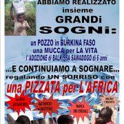 Vicopisano: una pizzata per l'Africa