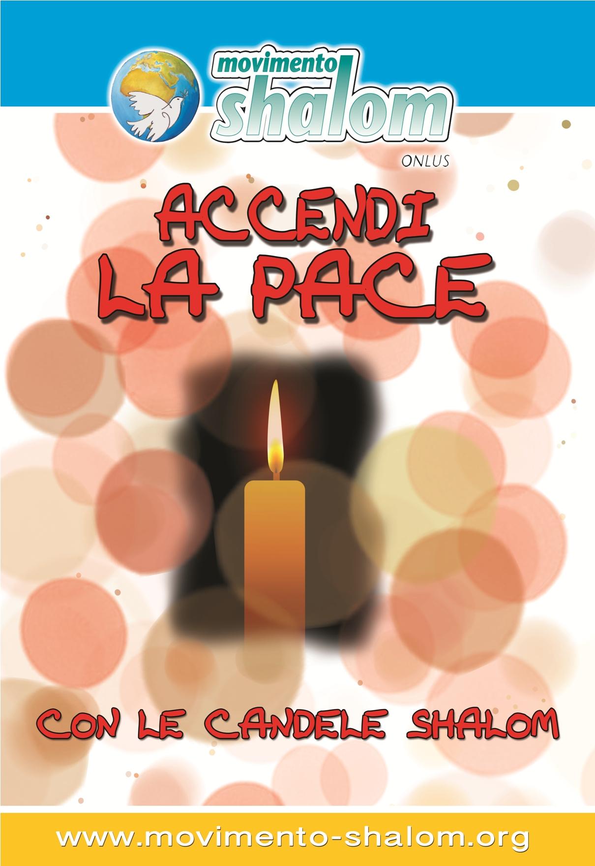 candela ACCENDI LA PACE