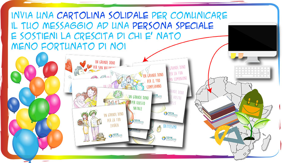 Cartolina Solidale