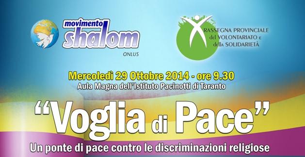 Taranto: Voglia di Pace