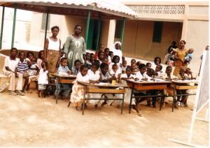Giloungou Prima della scuola