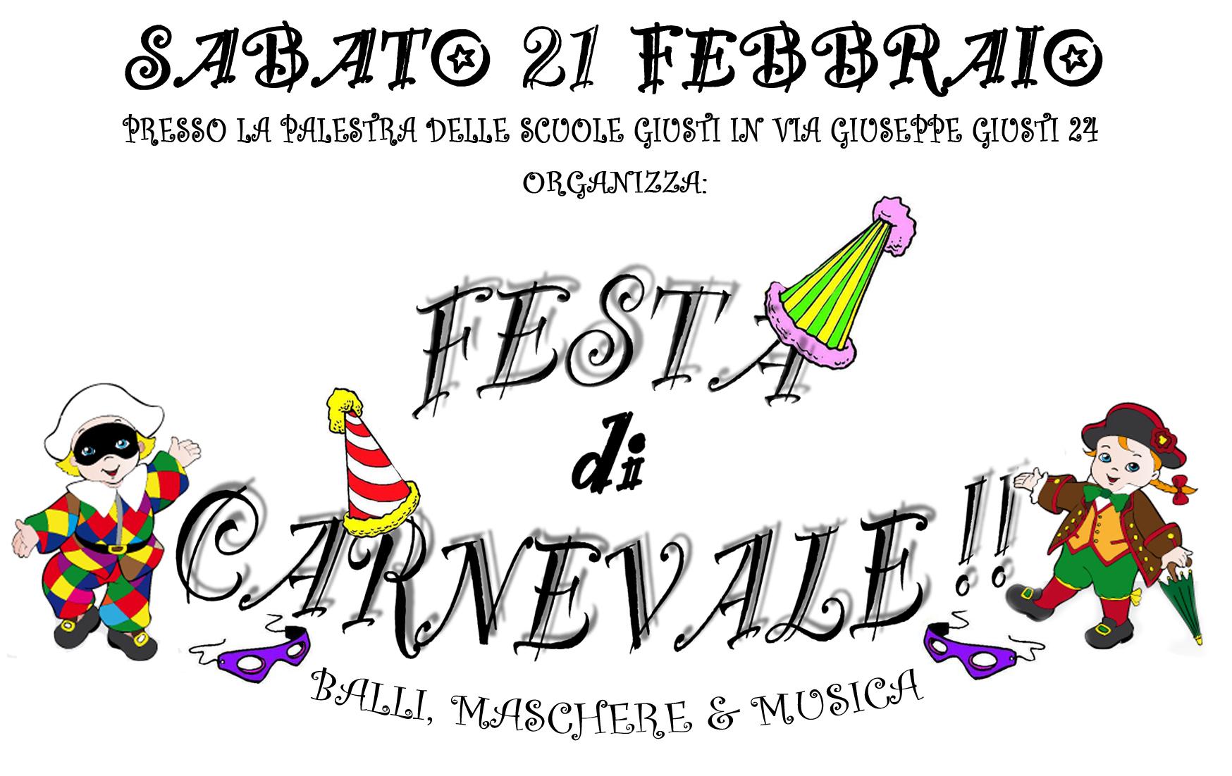Festa di Carnevale a Ponsacco
