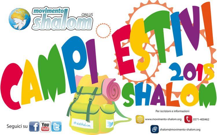Attività estive Shalom 2015