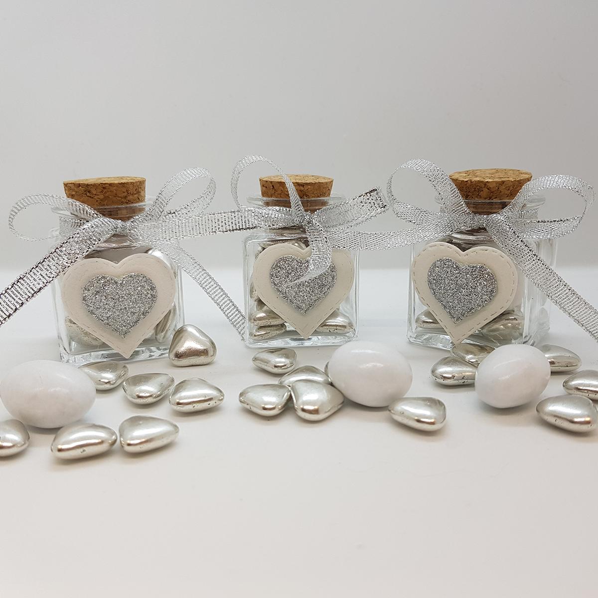 Bomboniere per nozze d'argento