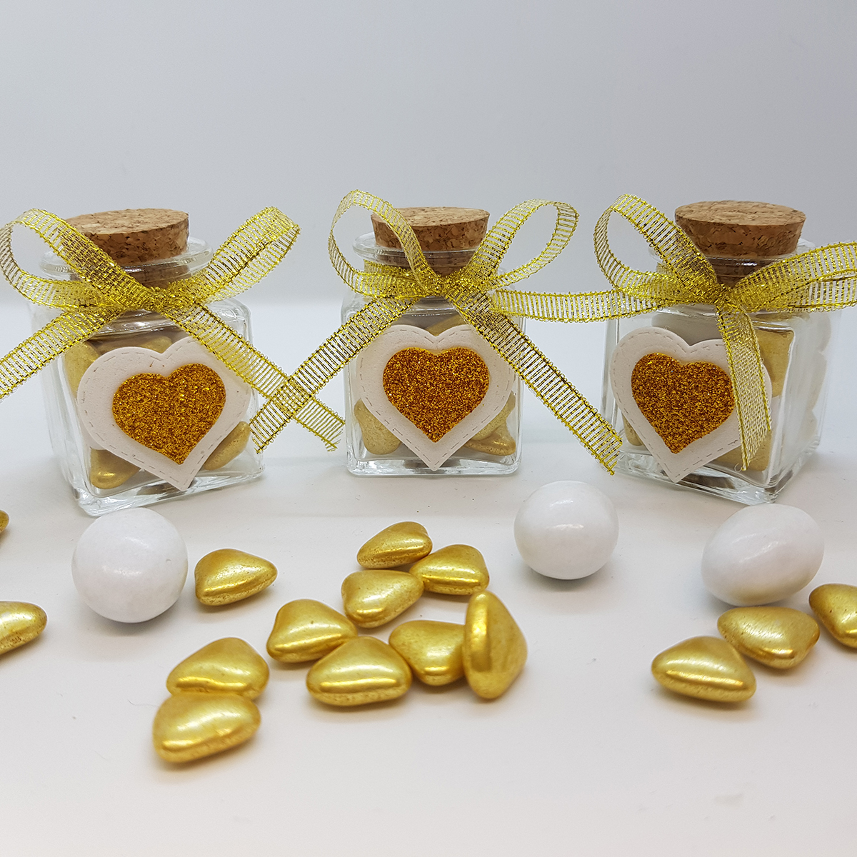 Bomboniere per nozze d'oro