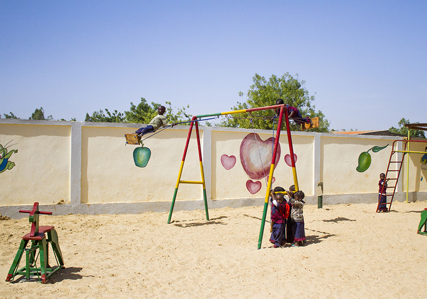 Scuola materna a Koupela (Burkina Faso)