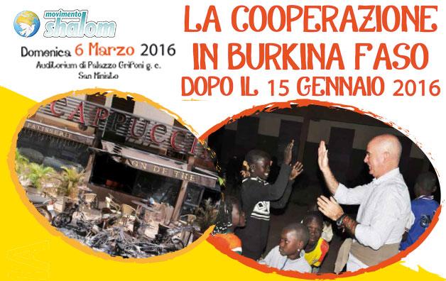 La cooperazione in Burkina Faso dopo il 15 gennaio