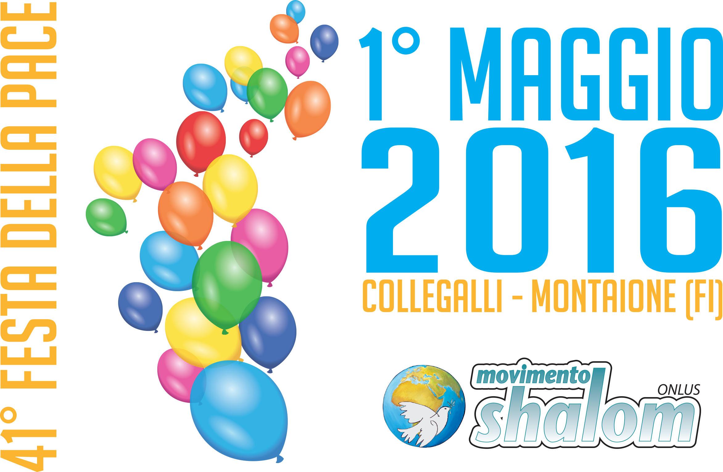 41° Festa della Pace a Collegalli – 1 maggio 2016