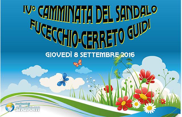 IV Camminata del Sandalo – giovedì 08/09