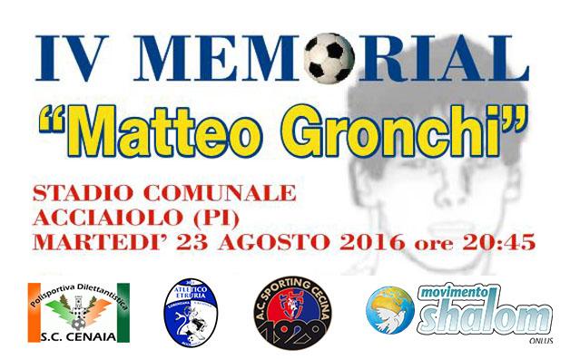 IV Memorial Matteo Gronchi