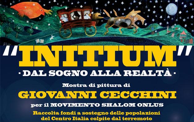 """""""INITIUM"""" – Dal sogno alla realtà – Mostra di pittura di Giovanni Cecchini"""