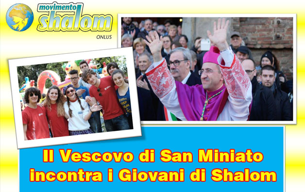 Vescovo incontra Shalom