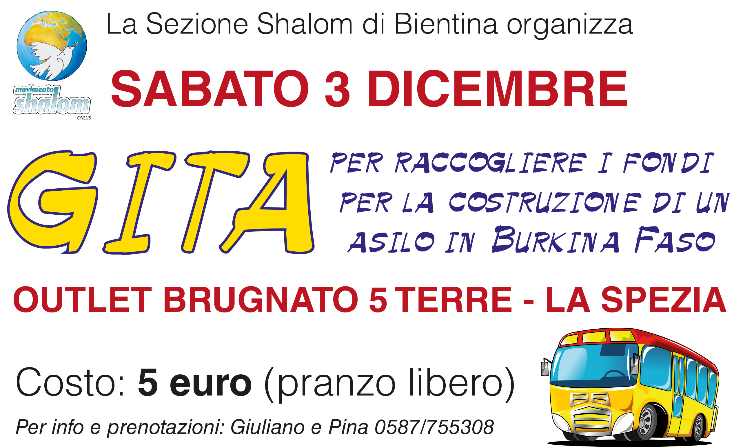 Gita all\'outlet di Brugnato 5 Terre – sabato 3 dicembre | Movimento ...