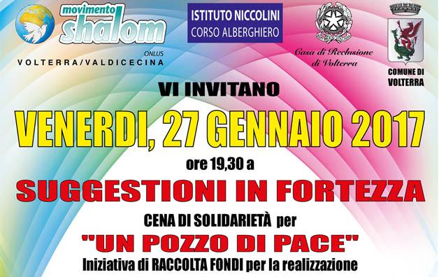 Suggestioni in Fortezza a Volterra il 27 gennaio