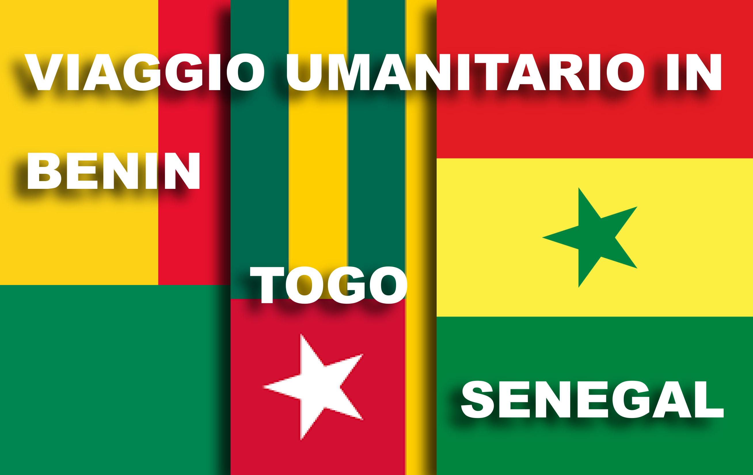 Viaggio Umanitario in Benin, Togo e Senegal