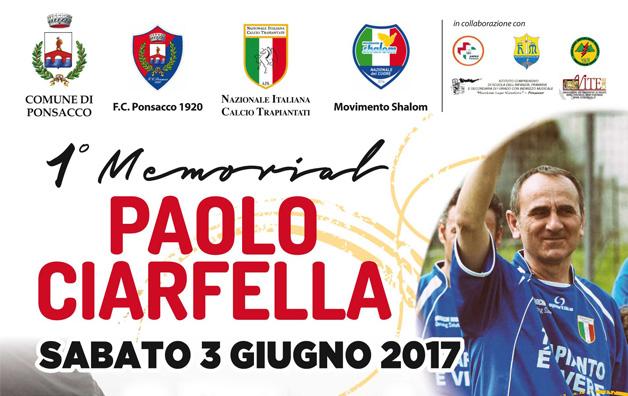 1° Memorial Paolo Ciarfella - NL