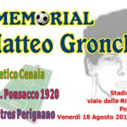 V Memorial Matteo Gronchi – 18 Agosto 2017