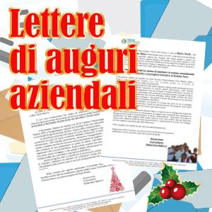 lettere aziendali di natale