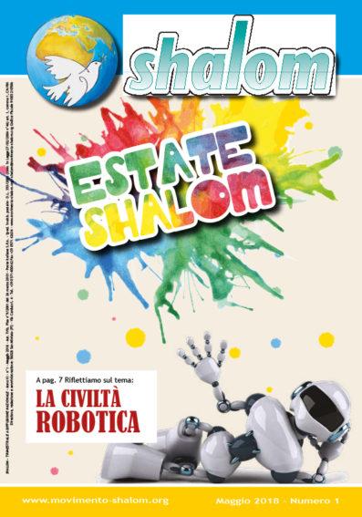 Giornale Shalom anno 2018 numero I