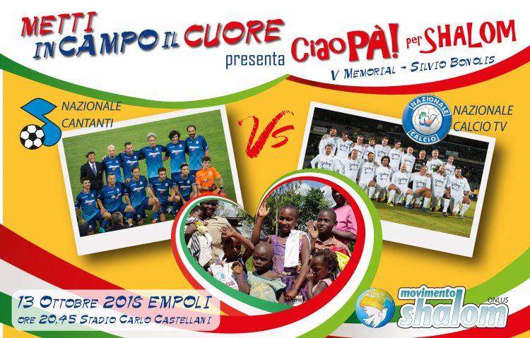 Torna Metti in campo il cuore a Empoli il 13 ottobre 2018