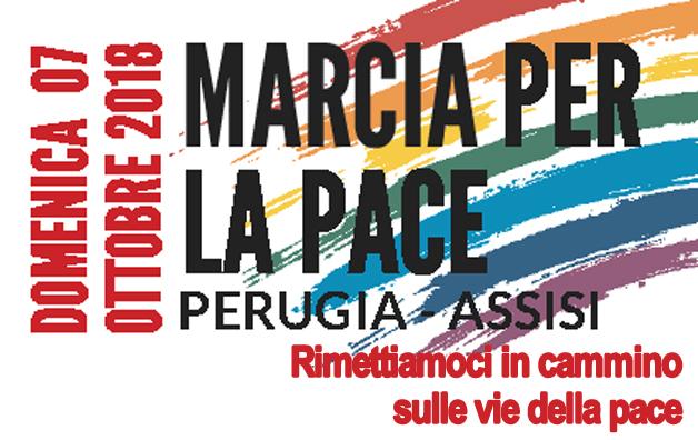 Marcia per la pace Perugia – Assisi 07 ottobre 2018