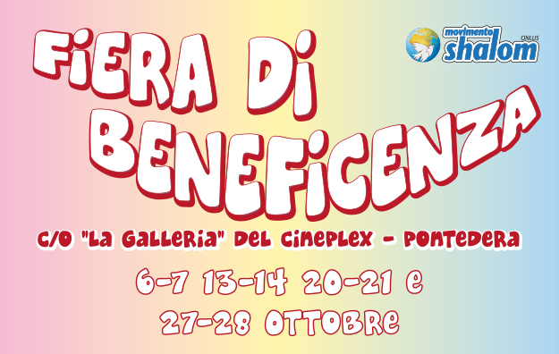 Fiera di Beneficienza a Pontedera