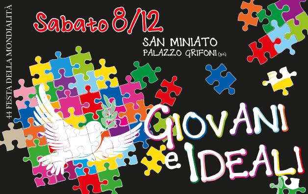 8 dicembre a San Miniato – 44^ Festa della Mondialità