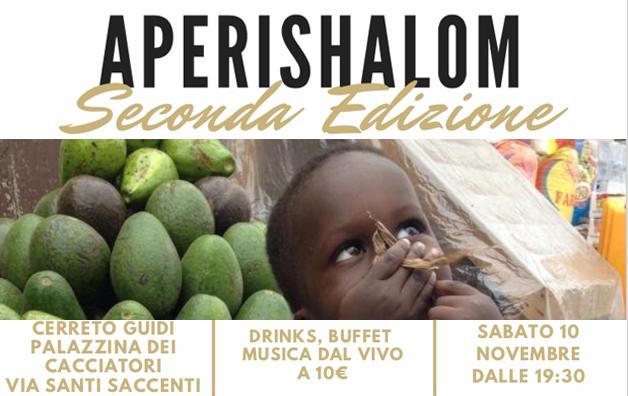 Aperishalom a Cerreto Guidi il 10 novembre