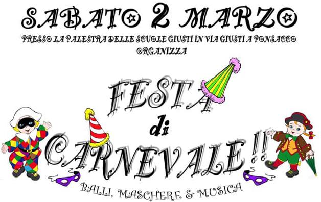 Carnevale a Ponsacco