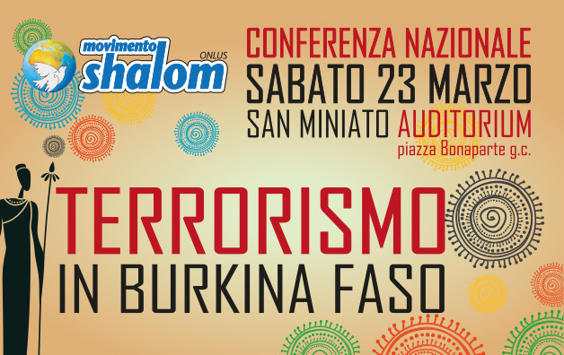 Conferenza Nazionale – Terrorismo in Burkina Faso