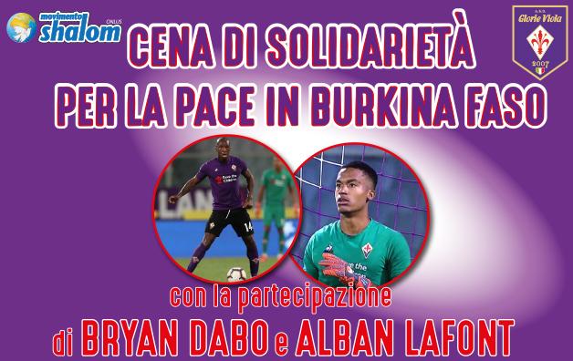 Cena di solidarietà per la pace in Burkina Faso – 9 aprile