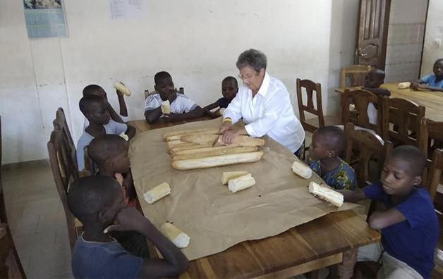 Il pane Shalom arriva in Benin