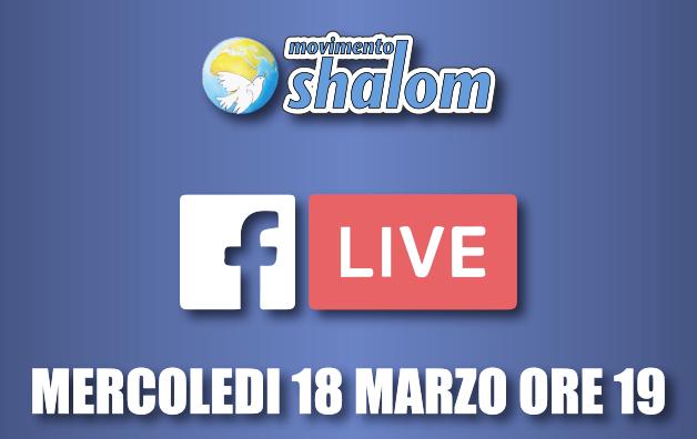 Shalom al tempo del coronavirus - Diretta Facebook del 18 marzo 2020