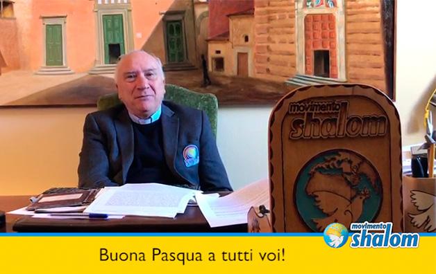Il video messaggio di Buona Pasqua da Don Andrea Cristiani