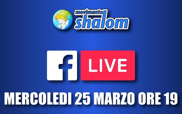 Shalom al tempo del coronavirus - Diretta Facebook del 25 marzo 2020