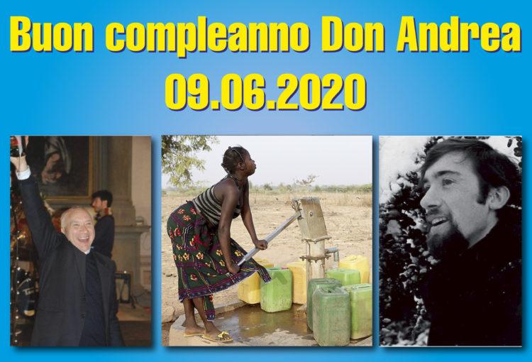 Raccolta fondi per compleanno di don Andrea Cristiani
