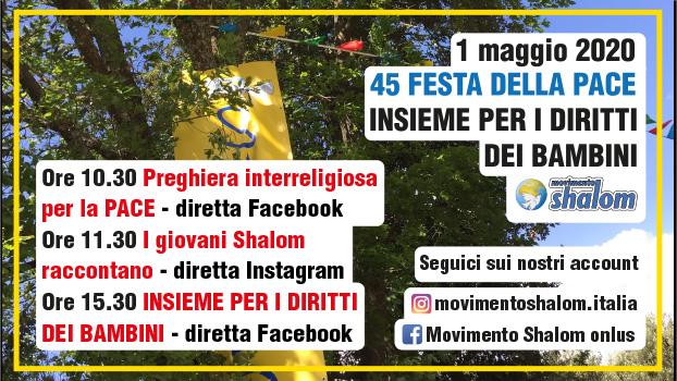 45° Festa della Pace - Preghiera Interreligiosa