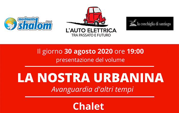 Presentazione del libro sull'Urbanina – 30/08 allo Chalet