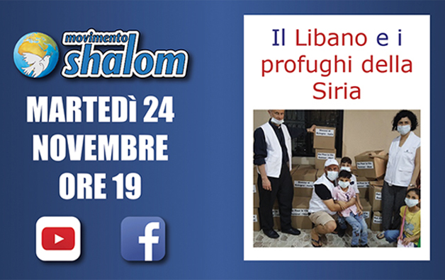 Shalom on air - Diretta Facebook del 24 novembre 2020