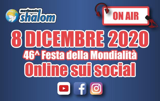 Shalom on air - Diretta Facebook dell'8 dicembre 2020
